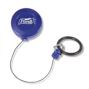 Purell key clip