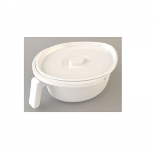 Commode Bucket and Lid for Incontinence