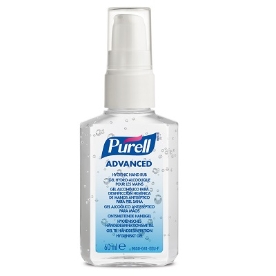 PURELL Hygienic Hand Rub (Case 24x60ml)