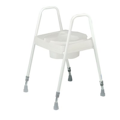 Height Adjustable Toilet Seat and Frame