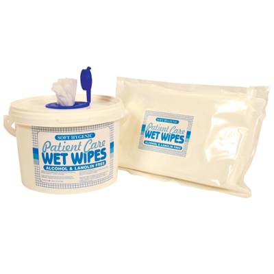 Moist Patient Wipes – Standard Size