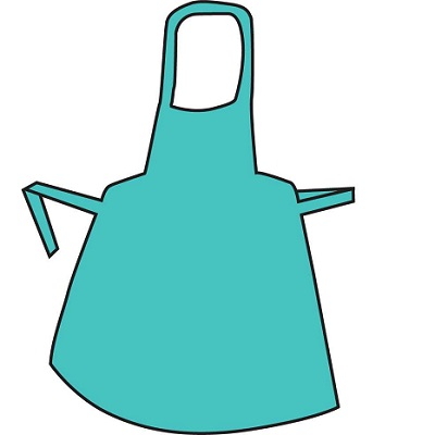Polythene Aprons – Flat Pack Green