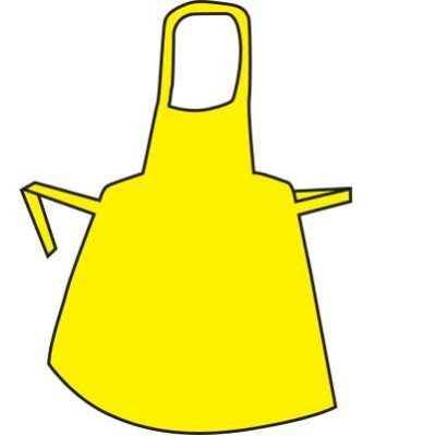 Polythene Aprons – Roll Yellow