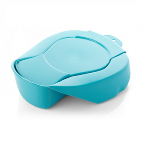 Bedpan with lid