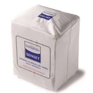 Senset general purpose dry incontinence wipes