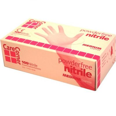 Nitrile Powder Free Examination Gloves – Blue Small