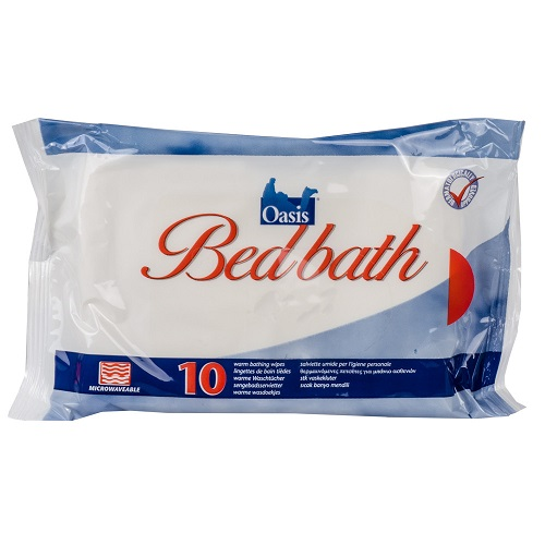 Oasis Bed Bath Wipes (Pack of 10)