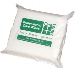Personal Care Dry Wipes (Pack of 100)