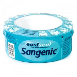 An individual Sangenic Easiseal Refill Cassette