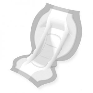 Attends Contours Incontinence Pads