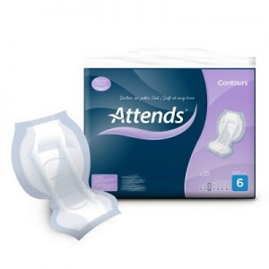 Attends Contour incontinence pads 6