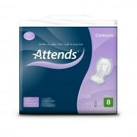 Attends Contour incontinence pads 8