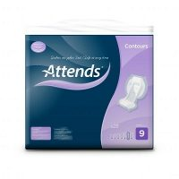 Attends Contour incontinence pads 9
