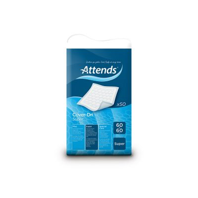 Attends Cover Dri Super Disposable Bedpad 60by60