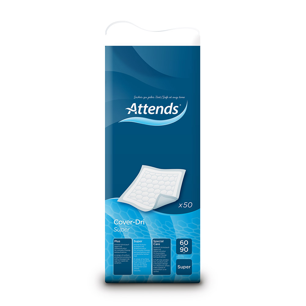 Attends Cover Dri Super Disposable Bedpad 50