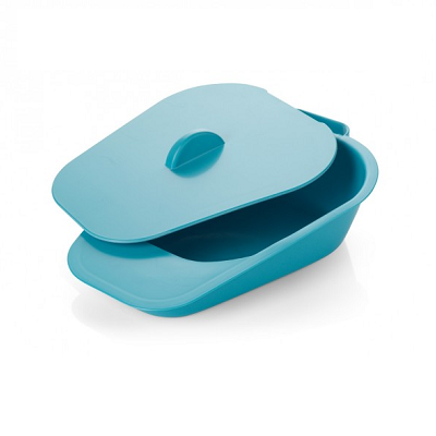 Bedpan and Lid for Incontinence