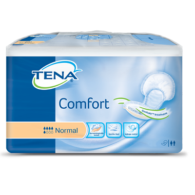 Tena Comfort Super Incontinence Pads Normal