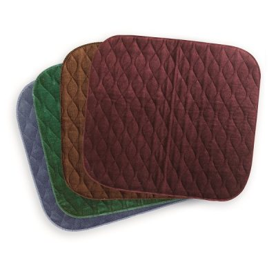 Velour Washable Chair Pad