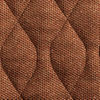 brown velour washable chairpad