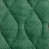 green velour washable chairpad
