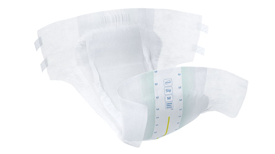 The Tena Slip Super incontinence pad