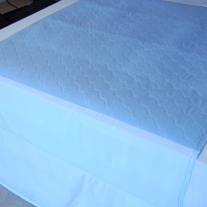 Deluxe Washable Bed Pad with Tucks