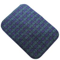 Deluxe Washable Seat Pad Tartan