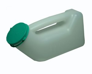 Male Urinal Bottle With Lid