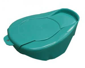 Bedpan and lid